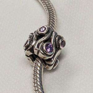 Pandora Purple Swarovski Charm
